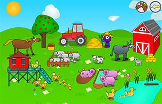 Farm Animal Sounds Mobile Educational Games For Kids