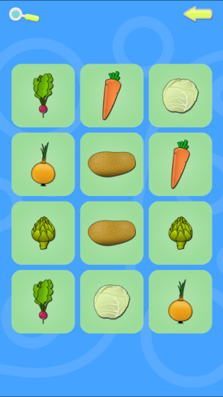 Memory Fruits & Vegetables